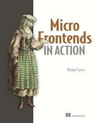 book cover Micro Frontends in Action